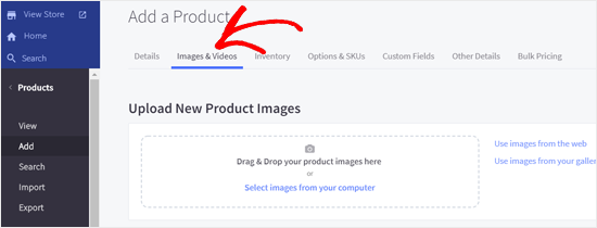 Add Product Images to BigCommerce Store