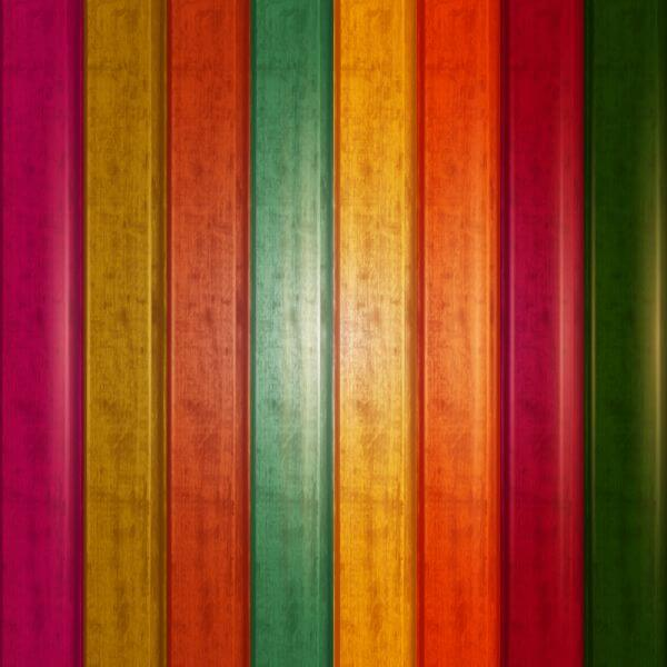 Wood colorful texture vector