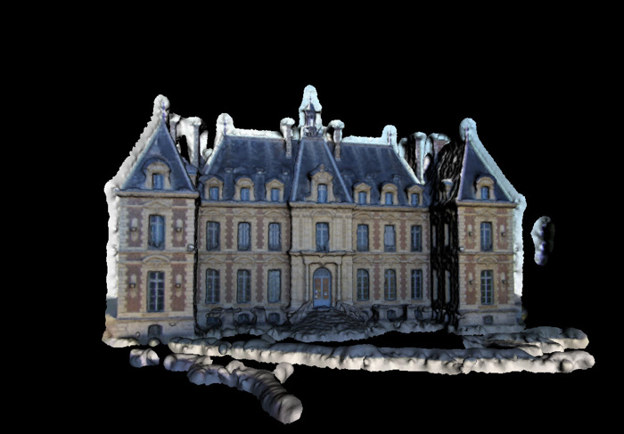 Sceaux Castle - a 3d model created by Pierre Moulon