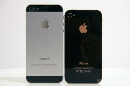 Вид нового Iphone 5