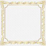 Квадратные рамки для фотошопа – 81 PNG, Золотые квадратные рамки